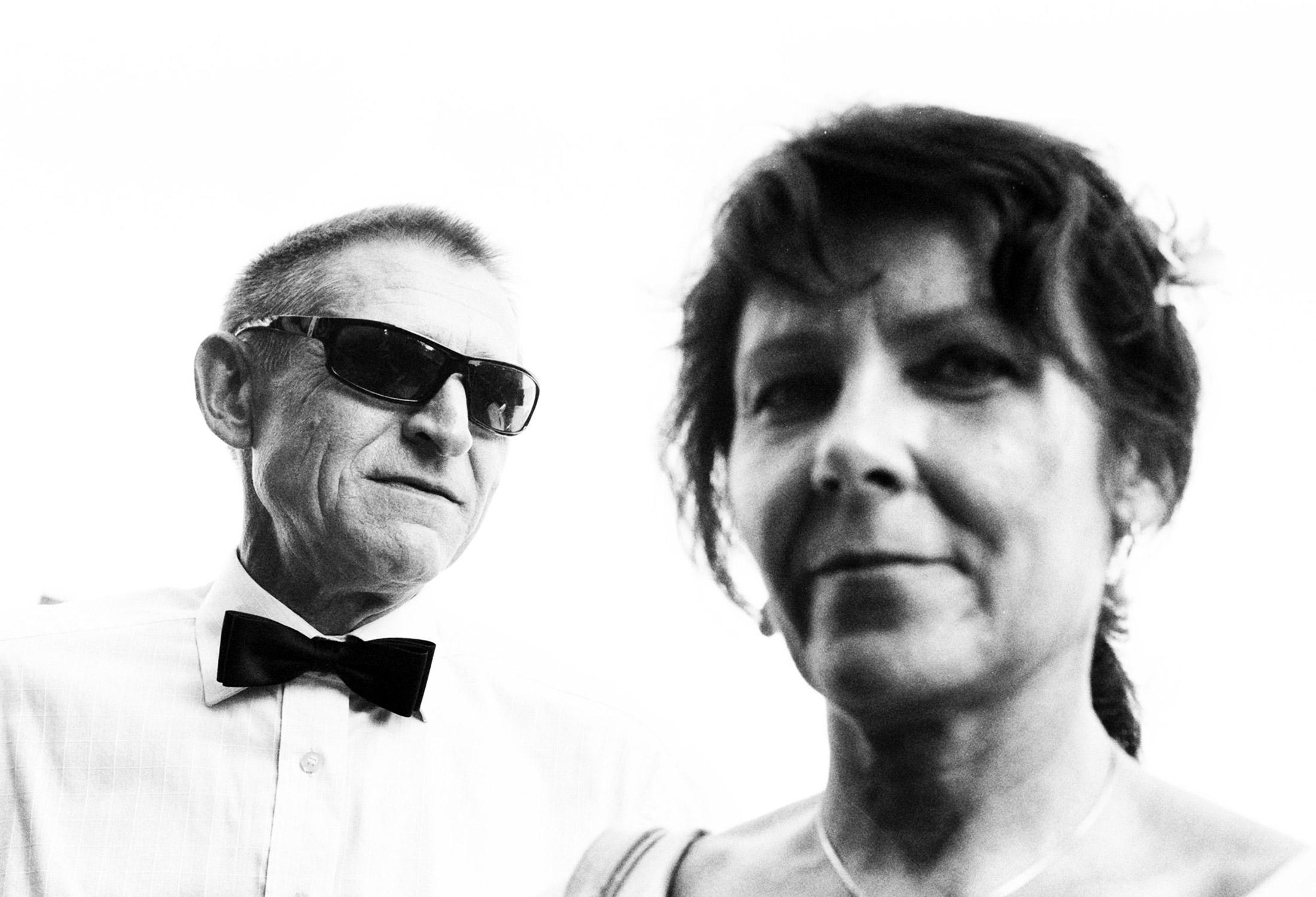 Coole Hochzeitsgäste. Eine Fotoreportage.