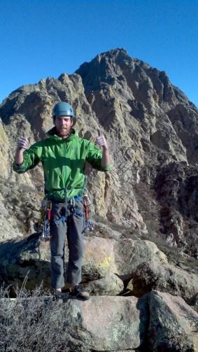 Michael on the summit