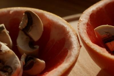 cosulete cu ciuperci si carnati 05