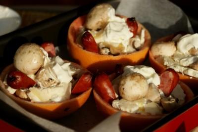 cosulete cu ciuperci si carnati 09