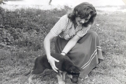 Omama and Pup