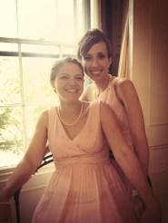 Elise and I.