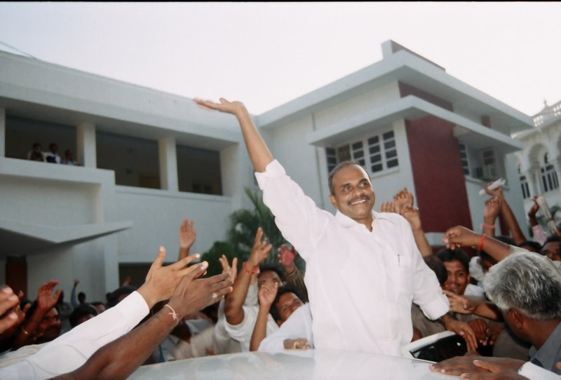 The Iron Man  Y S R  Has the Feared Happed and We are Missing YSR.