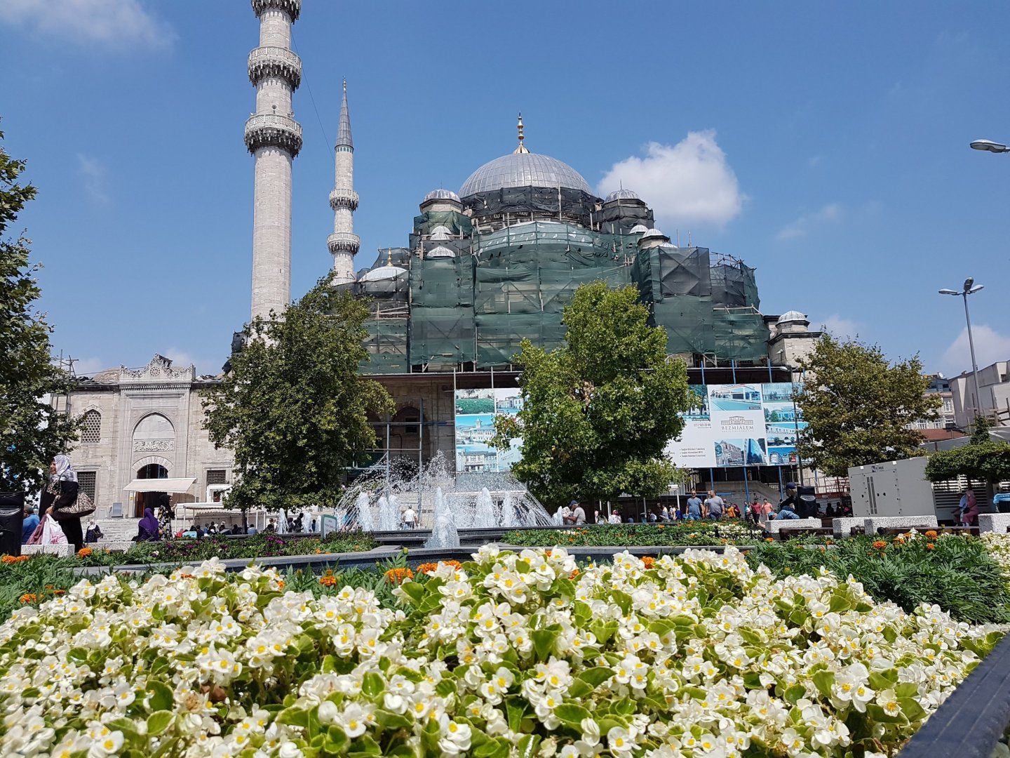 Traveling in Istanbul, Turkey