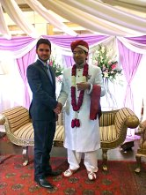 Let good luck and understanding stay with you forever! Happy wedding day Mubashar Bhai !