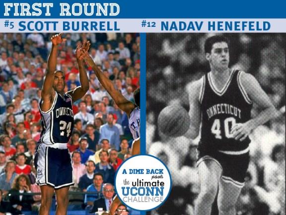Scott Burrell vs. Nadav Henefeld