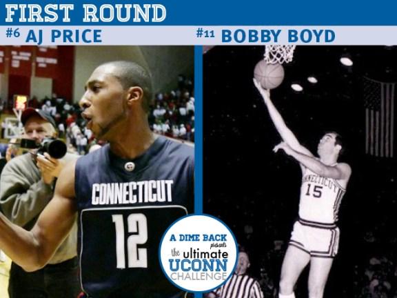 AJ Price vs. Bobby Boyd