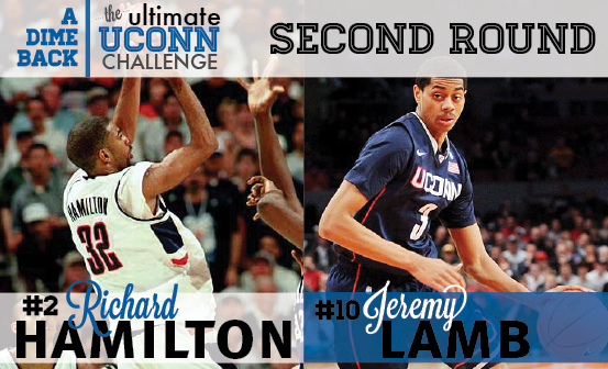 Richard Hamilton vs. Jeremy Lamb