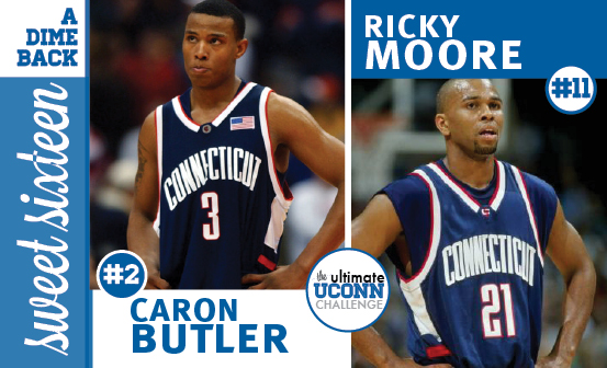 Caron Butler vs. Ricky Moore