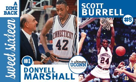 Donyell Marshall vs. Scott Burrell