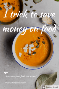 1 trick to save money on food