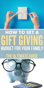 gift giving budget pin