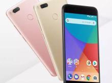 Xiaomi MI A1 receiving Android pie