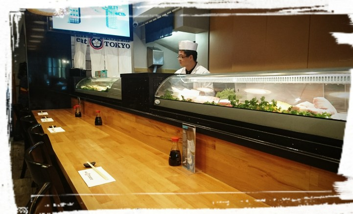 Der Sushi-Chef im Eat Tokyo
