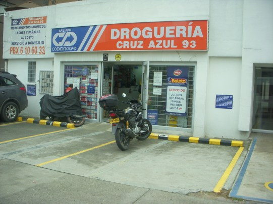 A drug story in Bogotá.