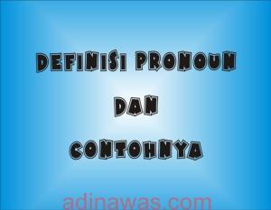 Definisi Pronoun Dan Contohnya