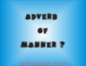 Pengertian Dan Contoh Adverb Of Manner
