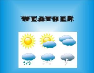 Nama Dan Istilah Cuaca Dalam Bahasa Inggris