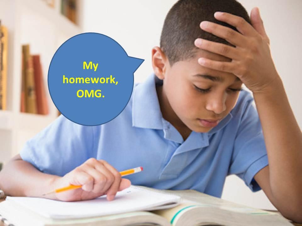 contoh debat bahasa inggris tentang homework