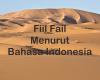 Definisi Fiil Fail Menurut Bahasa Indonesia