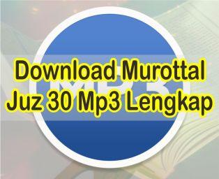 Download Murottal Juz 30 Lengkap Oleh Misyari Rasyid Alafasy