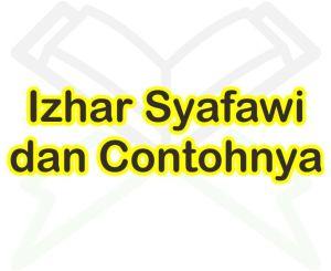 Izhar Syafawi Dan Contoh Bacaannya Dalam Surah Al Baqarah