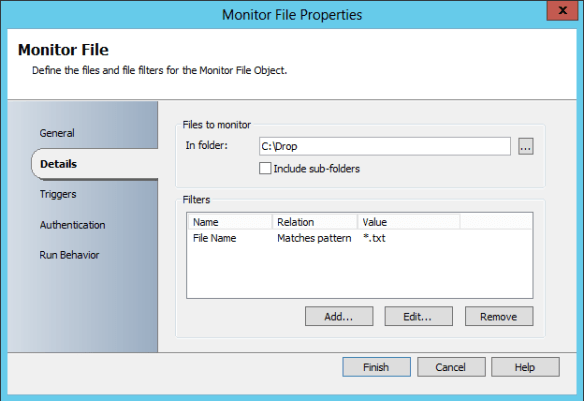 Add and Config Monitor File 09