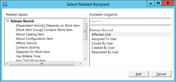 Create Notification Sub - Release Record 19