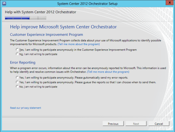 Orchestrator Install 14