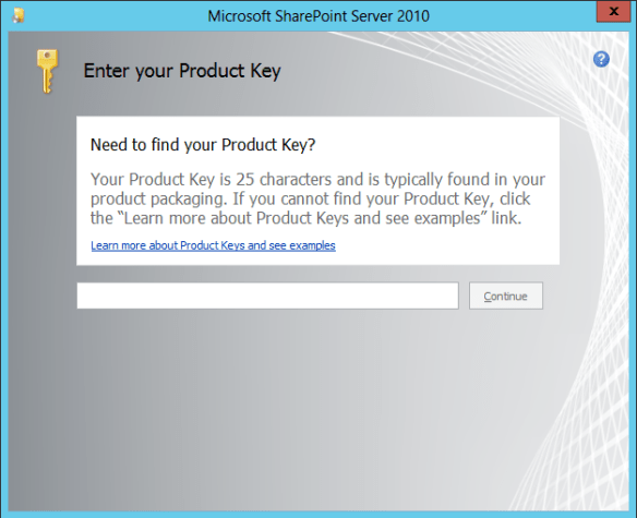 SharePoint Install 02