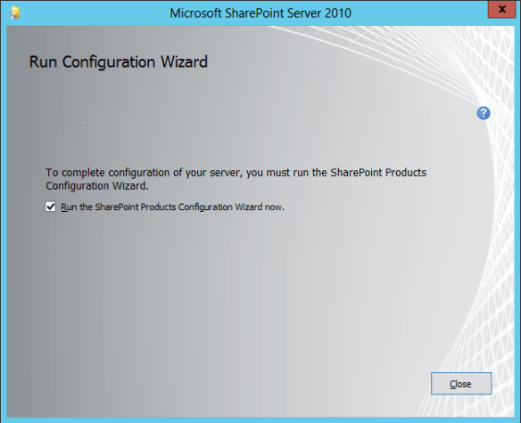SharePoint Install 05
