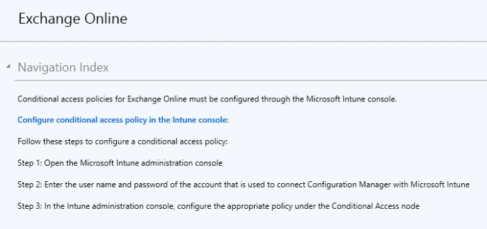 Conditional Access - 01 - Exchange Online