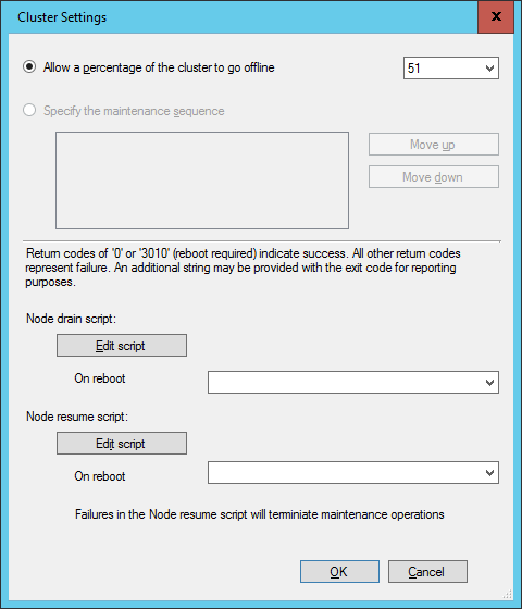 SCCM2016TP3 - Cluster Settings