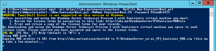 PowerShell Command Prompt