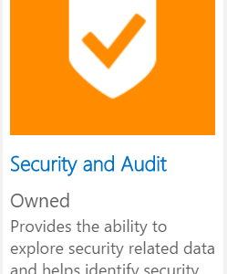 Enhancing the OMS Security and Audit Solution