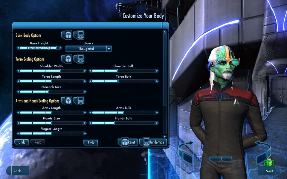 Meet Zorian Zugy, tactical officer and commanding U.S.S. Lapsed Pacifist