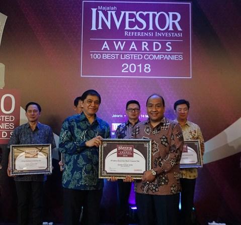 Adira Finance Raih Investor Awards 2018 100 Listed Companies
