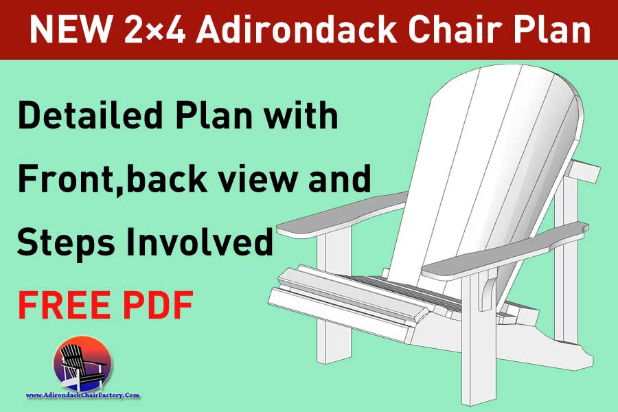 2×4 Adirondack chair plan