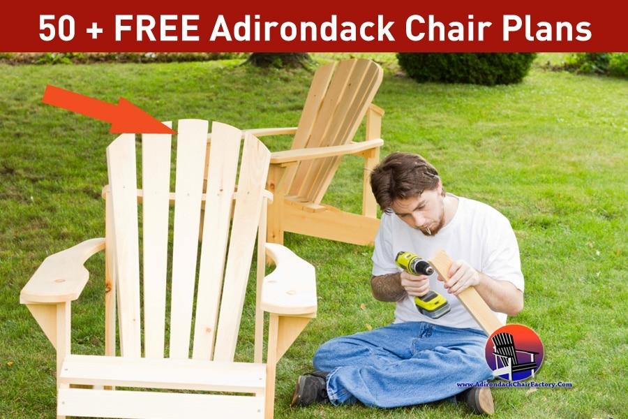 Adirondack Chair Plans