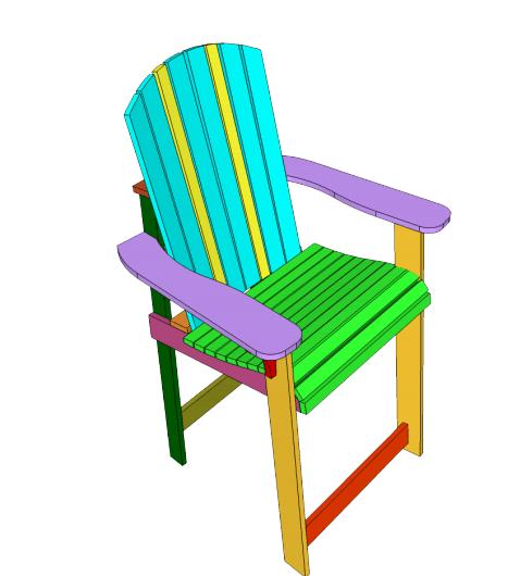beach chair Adirondack chair