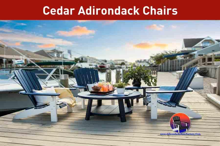 Top Cedar Adirondack Chairs Reviews (2020)
