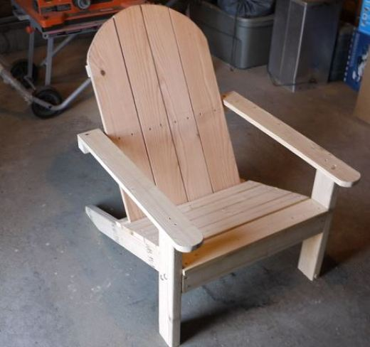 chair plans adirondack