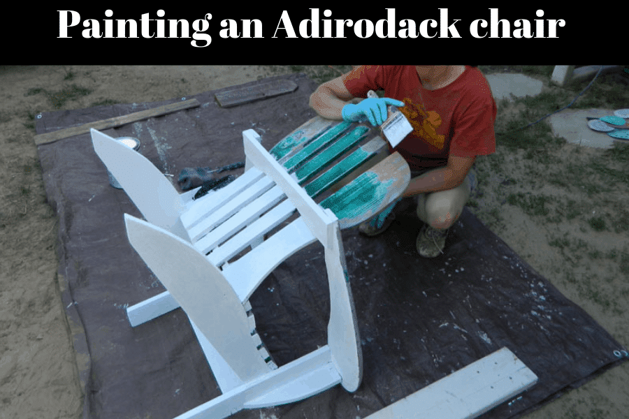 best finish for Adirondack chairs