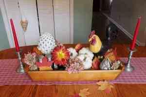 Festive Fall Table Decoration