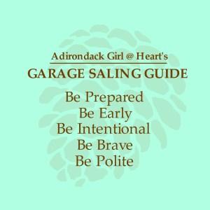Adirondack Girl's Garage Saling Guide