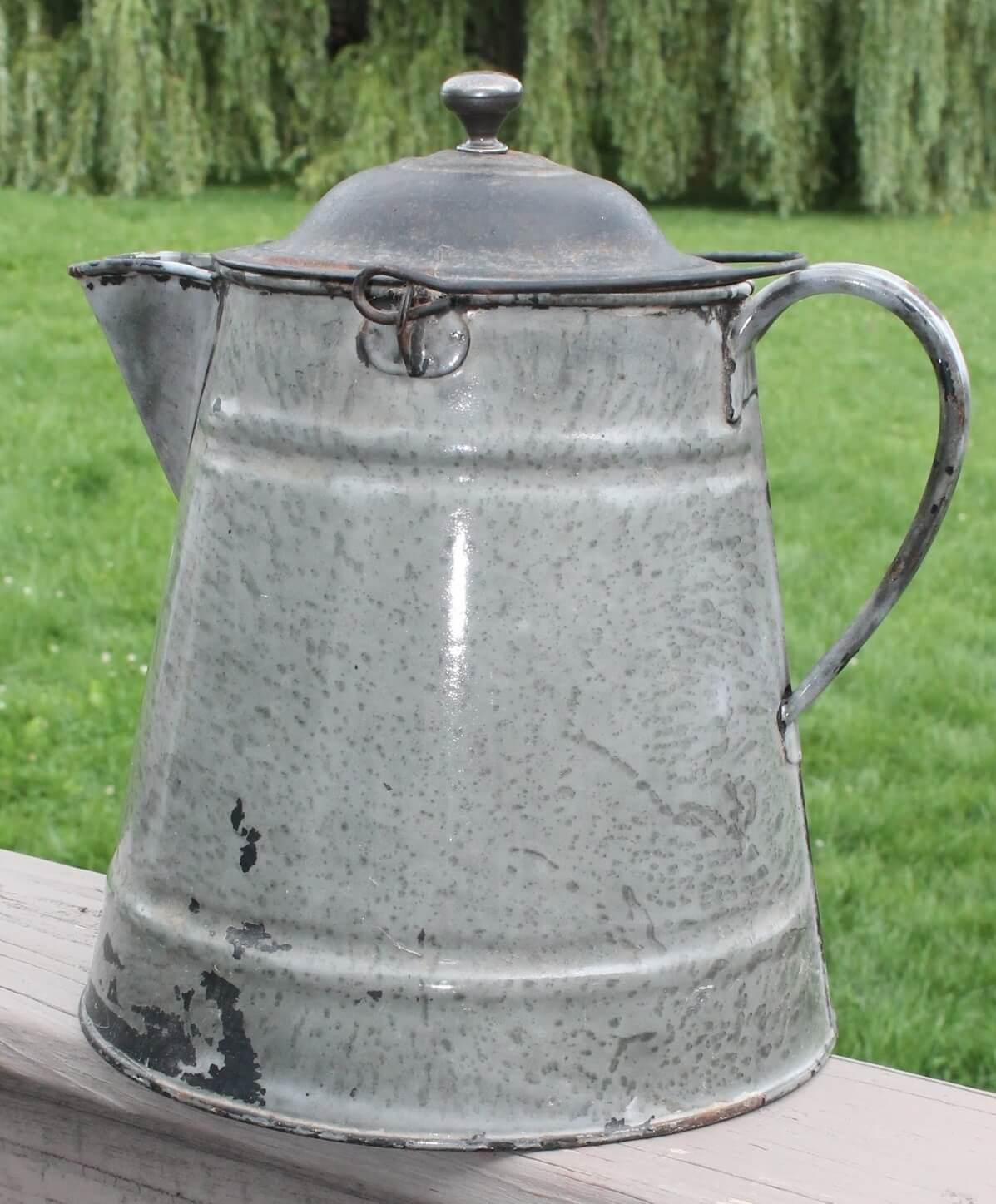 Vintage Graniteware Coffee Pot