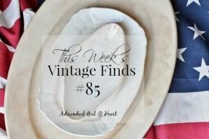 This Week's Vintage Finds #84