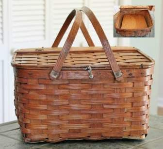 Vintage Pie Basket (500x458) for price guide
