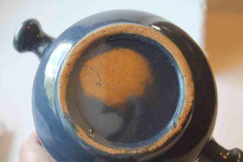bottom of vintage crock