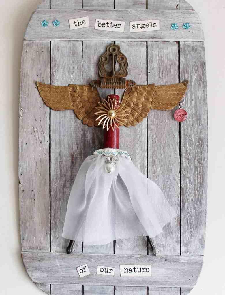 junk art angel